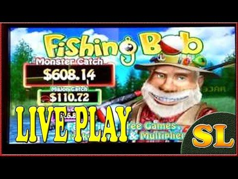 ** Fishing Bob ** BONUS ** LIVE PLAY ** MAX BET ** SLOT LOVER **