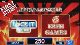 •NEW• LOCK IT LINK Loteria Don Clemente Slot Machine FREE GAMES Won! FIRST ATTEMPT