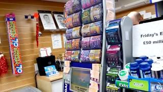Wow!..its a Birthday Visit to Nick's Shop..to cash & Buy more Scratchcards