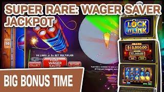 ⋆ Slots ⋆ SUPER RARE Wager Saver Last Spin JACKPOT ⋆ Slots ⋆ Lock It Link: Eureka Reel Blast MADNESS