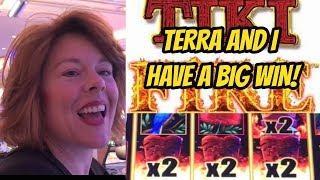 BIG WIN! GIRLS JUST WANT TIKI'S- FUN AND WINS!