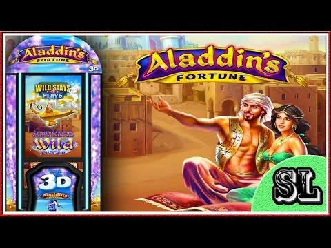 ** NEW GAME ** Alladin's Fortune 3D ** Live Play ** Bonus ** SLOT LOVER **