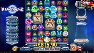 Reactoonz Slot - Mega Win Gargantoon!