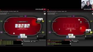 Cash Game Poker Episode 3 - Ignition 25NL Zone - 2-Tables w Commentary