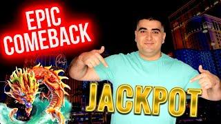 Epic Comeback & HANDPAY JACKPOT On High Limit Slot ! $1,000 Challenge To Beat The Casino | EP-30