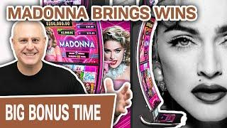 ⋆ Slots ⋆ SEXY MADONNA Brings Me Some MATERIAL WINS ⋆ Slots ⋆ MIGHTY CASH SLOT MACHINE ACTION!