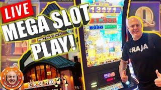 • LIVE MEGA MONARCH JACKPOT$! • Who Wants To See The BIGGEST WINS on YouTube?! •