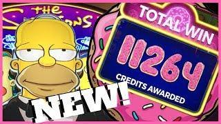• The Simpsons • NEW • Slot Machine at Cosmopolitan, Las Vegas