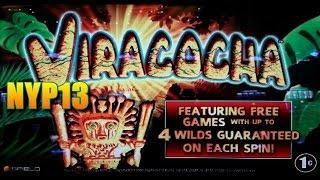 Spielo - Viracocha Slot Bonus WIN