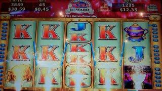 China Mystery Boosted Wins & Spins Slot Machine Bonus - 48 Free Games w/ 2x Multiplier - Nice Win