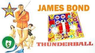•️ New - James Bond - Thunderball slot machine, 3 bonuses