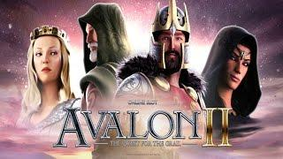 Avalon II - BIG WIN - Trailing Wilds - Microgaming Slot - 4,50€ BET!
