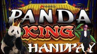 HANDPAY! PANDA KING SLOT MACHINE BONUS