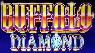 NEW GAME! LIVE DIAMOND BONUS on BUFFALO DIAMOND SLOT POKIE - PECHANGA CASINO