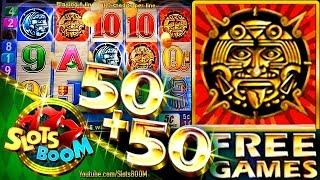 50 + 50 FREE SPINS!!! SUN & MOON !!!! 5c Aristocrat Video Slot