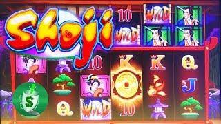 Shoji slot machine, bonus