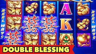•️DOUBLE BLESSING BIG WIN•️ Dancing Drum | Flower Of Riches | Dragon Link Slot Bonus