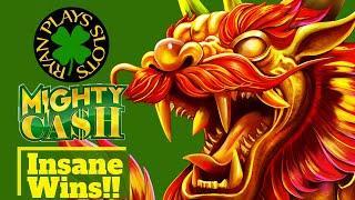 Mighty Cash Long Teng Hu Xiao Slot! Great Progressives & Free Games