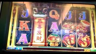 $1.50 bet FREE Spins DANCING LIONS pokie slot win