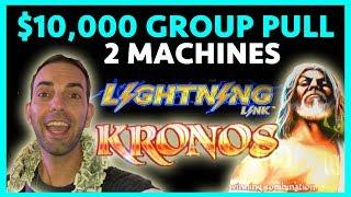 •WHOA BABY!•$10,000 Group Pull!•Lightning Link•Kronos•Cosmo LAS VEGAS • BCSlots