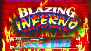 ++NEW Blazing Inferno slot machine, Double, Bonus or Bust