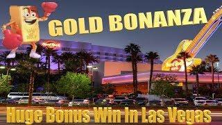 • Gold Bonanza - Huge Bonus wins at Hard Rock Casino Las Vegas