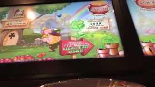 Leprechaun's Gold- Land O' Luck Slot Machine- Bonuses With Vod
