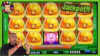 •Huff And Puff JACKPOT Wins!!! Cosmopolitan Las Vegas•