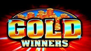 Double Jackpot Triple Blazing 7s Gold Winners Slot - NICE SESSION, ALL FEATURES!