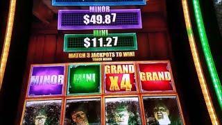 The Walking Dead 2 Slot Machine Jackpot Bonus Win !!! Max Bet Live Play