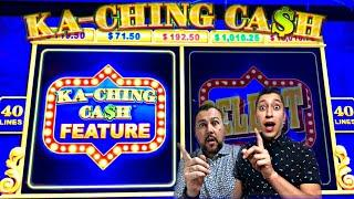 LUCK HAS ARRIVED ON THE NEW KA-CHING CASH SLOT MACHINE