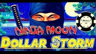 •️DOLLAR STORM NINJA MOON •️HANDPAY ON NEW STYLE OF LIGHTNING LINK SLOT •️