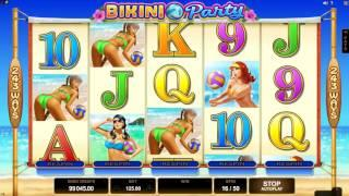 Bikini Party Slot Features & Game Play - by Microgaming