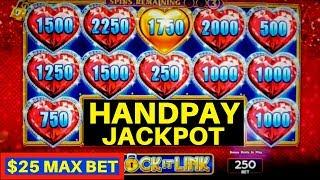 High Limit - LOCK IT LINK Slot Machine HANDPAY JACKPOT | High Limit EUREKA Lock It Link Slot HUE WIN