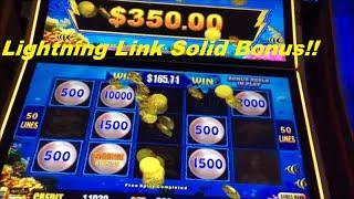 Lightning Link High Limit with a Decent Bonus Round