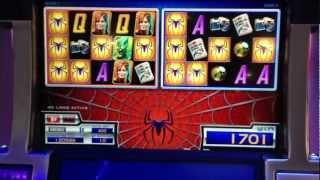 Wild Transfer Spider Sense Feature From SPIDER-MAN Slots At G2E 2012