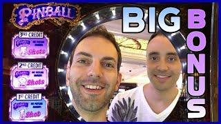 • BIG BONUS on PINBALL w/Marco• DOUBLE DaVinci Diamonds • #Delicious WINS