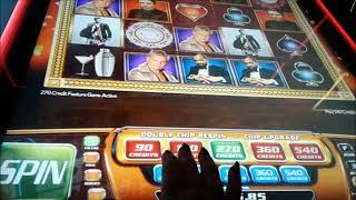 GREAT RUN on James Bond 007 Cashing out a Big WIN