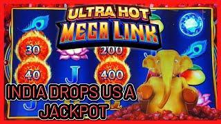 HIGH LIMIT Ultra Hot Mega Link India HANDPAY JACKPOT ⋆ Slots ⋆$40 Bonus Round Slot Machine Casino
