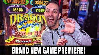 ★ Slots ★ PREMIERE ★ Slots ★ HUGE WINS on BRAND NEW Dragon Spin Age of Fire! ★ Slots ★ Bonus Double