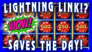 LIGHTNING LINK SAVED US! • 10c MOON RACER & BENGAL TREASURES • GROUP PULL • LIVE CASINO PLAY