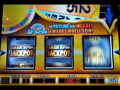 Slot machine max bet jackpot