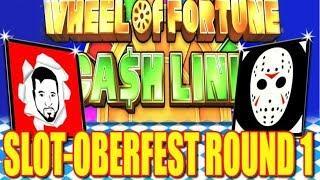 • $100 WHEEL OF FORTUNE CASH LINK • 2019 Slot-Oberfest Tournament | Round 1