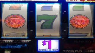 JACKPOT - LIVE•Triple Strike • Double Diamond 3x4x5, Butterfly Sevens @ Pechanga Resort Casino