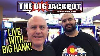 • Live Slot Play from the Lodge Casino with Big Hank••