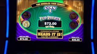 Joker's Head or Tails Poker Slot Machine Bonus