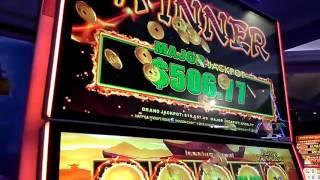 Dragon Link Major Fire Ball Pokie Slot Win