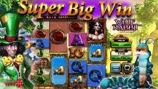 SUPER BIG WIN on White Rabbit Slot (BTG) - 10€ BET!