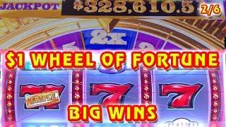 WHEEL OF FORTUNE • $7 MAX BET  $1,000 PAYLINES GROUP PULL (2/6)