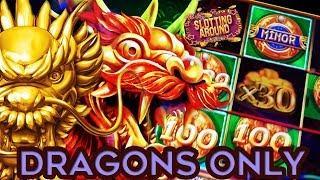 Dragon slot wins- Mighty cash progressive, 5 Dragons Rapid surprice & a notty dragon!